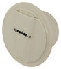 valterra rv exterior cable hatches electrical hatch for rvs - 5 inch diameter colonial white