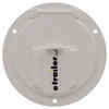 valterra rv access doors cable hatch electrical for rvs - 4-9/16 inch diameter white