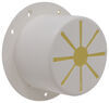 """Valterra Electrical Cable Hatch for RVs - 4-9/16"""" Diameter - White Round A10-2137VP"""