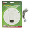 valterra rv access doors cable hatch round electrical for rvs - 4-9/16 inch diameter white