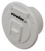 "Valterra Electrical Cable Hatch for RVs - 4-5/16"" Diameter - White 2-13/16 Inch Diameter A10-2140VP"