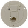 valterra rv access doors cable hatch electrical for rvs - 4-5/16 inch diameter colonial white
