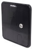 """Valterra Locking Electrical Cable Hatch for RVs - 8-1/2"""" Long x 8"""" Tall - Black Access Door - Cable Hatch A10-2151BKVP"""