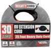 Mighty Cord 25' RV Power Cord Extension w/ Handle - 120V - 30 Amp 30 Amp to 30 Amp A10-3025EH