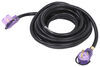 Mighty Cord RV Power Cord Extension w/ Indicator Lights - 30 Amps - 25' Long 30 Amp Female Plug A10-3025EHLED