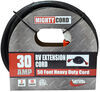 mighty cord rv power extension to hookup 50' w/ handle - 120v 30 amp