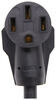 A10-3050FBK - 50 Amp Female Plug Mighty Cord RV Plug Adapters