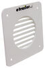 Valterra Louvered Battery Box Cone Vent Cover - White White A10-3300