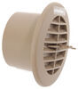 valterra rv vents and fans a/c heat registers ceiling register vent - 5-1/4 inch diameter beige
