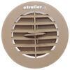 Valterra Heating and A/C Vent Register - Round - Beige Tan A10-3351VP