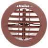 Valterra Heating and A/C Vent Register - Round - Brown 4 Inch Diameter A10-3352VP