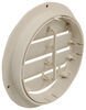 valterra rv vents and fans a/c heat registers ceiling register vent - rotating 6-7/8 inch diameter light beige