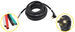Replacement Hardwire Power Cord