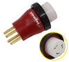 A10-5050DAVP - RV Receptacle to Power Hookup Mighty Cord Adapter Plug