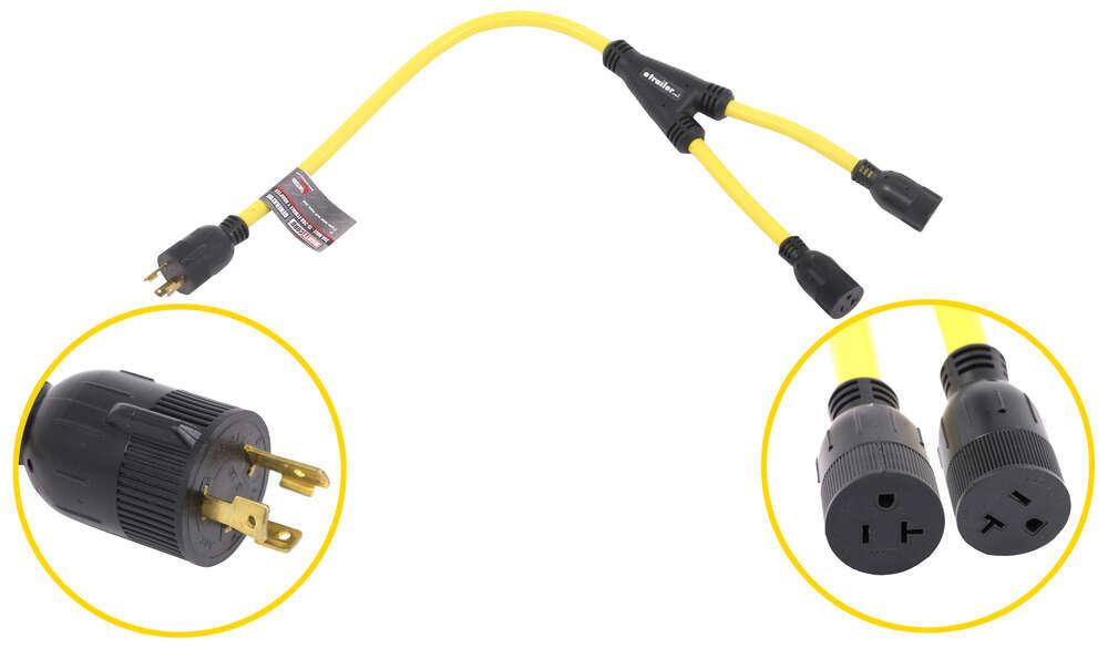 Mighty Cord Generator Plug Adapters - A10-G3020Y
