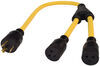 Generator Plug Adapters A10-G3020Y - 20 Amp to 30 Amp - Mighty Cord
