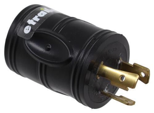 A10-G3030AVP - 30 Amp Twist Lock Male Plug Mighty Cord Adapter Plug