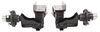 Trailer Leaf Spring Suspension A12WS545 - 5 on 4-1/2 Inch Hub - Timbren