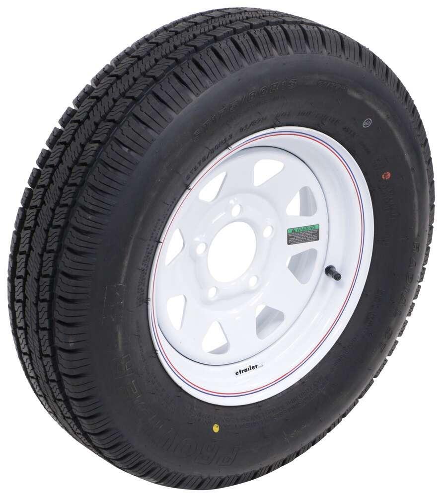 Trailer Tires and Wheels A13RWSQ - 175/80-13 - Taskmaster