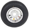 """Provider ST205/75R14 Radial Tire w/ 14"""" Steel Mod Wheel - 5 on 4-1/2 - LR C - Silver PVD Finish Load Range C A14R45SMPVD"""