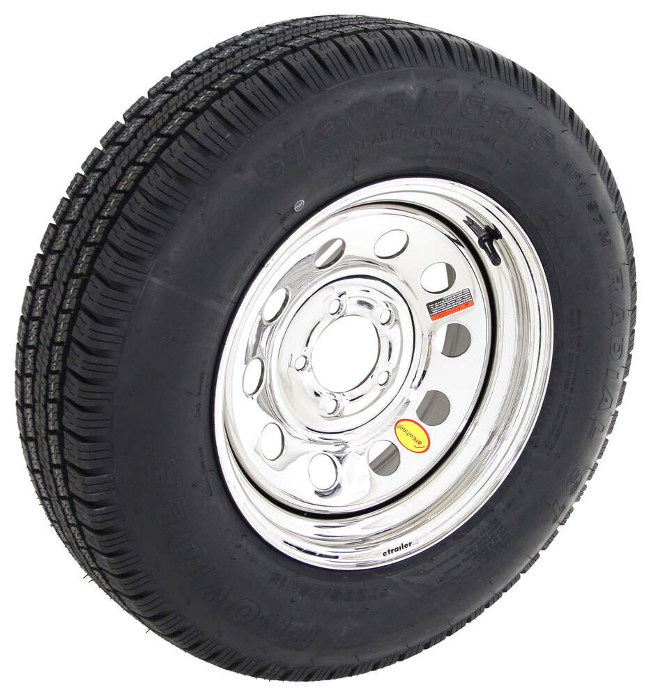 A15R645SMPVD - Better Rust Resistance Taskmaster Trailer Tires and Wheels