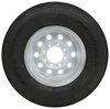 "Provider ST235/80R16 Radial Trailer Tire w/ 16"" White Mod Wheel - 8 on 6-1/2 - Load Range G Steel Wheels - Powder Coat A16R80GWM"