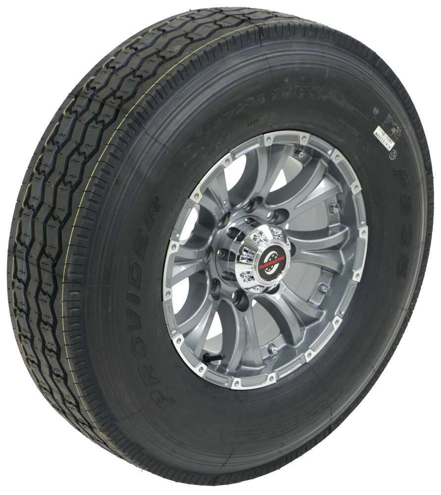 Taskmaster 16 Inch Trailer Tires and Wheels - A16RGGMML