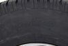 taskmaster trailer tires and wheels tire with wheel radial provider st235/80r16 w/ 16 inch steel mod - 8 on 6-1/2 lr e black pvd finish