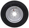 "Provider 215/75R17.5 Radial Tire w/ 17-1/2"" Solid Center Wheel - Offset - 8 on 6-1/2 - LR H Steel Wheels - Powder Coat A215H-8H31"