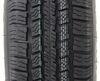 "Provider ST225/75R15 Radial Tire w/ 15"" Steel Mod Wheel - 5 on 4-1/2 - LR D - Black PVD Finish 15 Inch A225R645BMPVD"