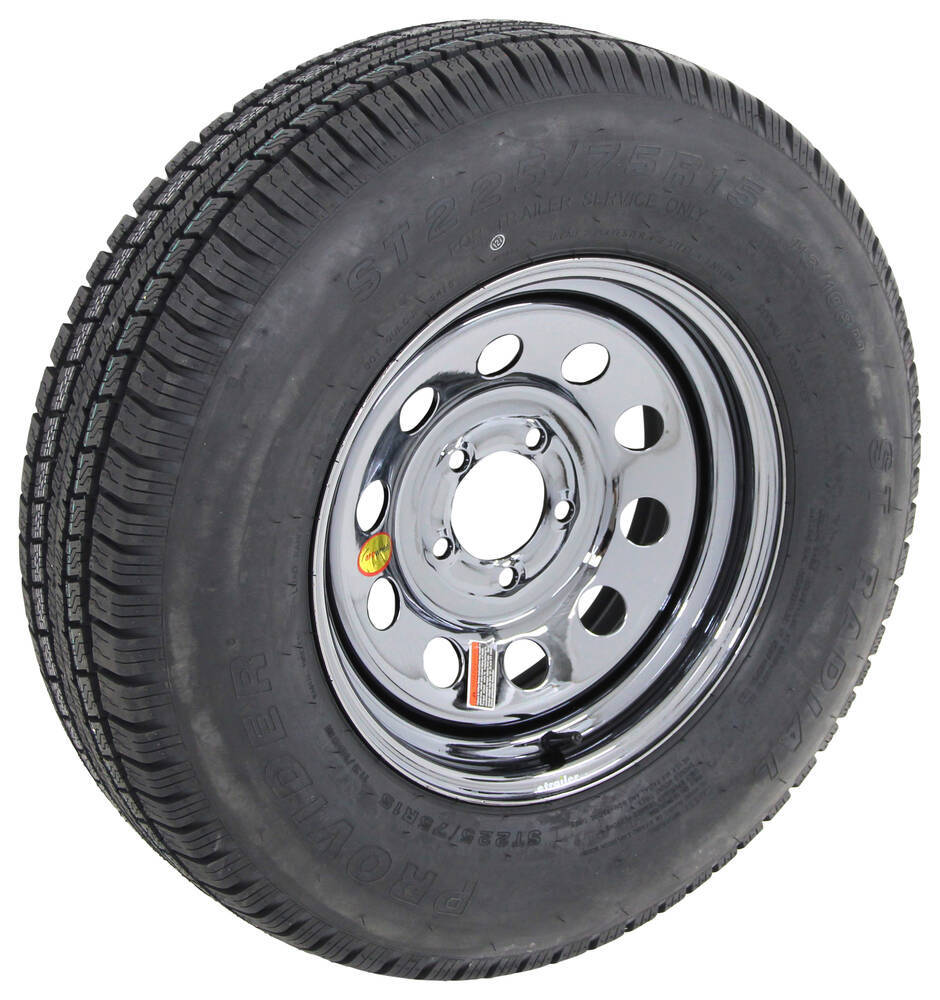 Trailer Tires and Wheels A225R645BMPVD - Better Rust Resistance - Taskmaster