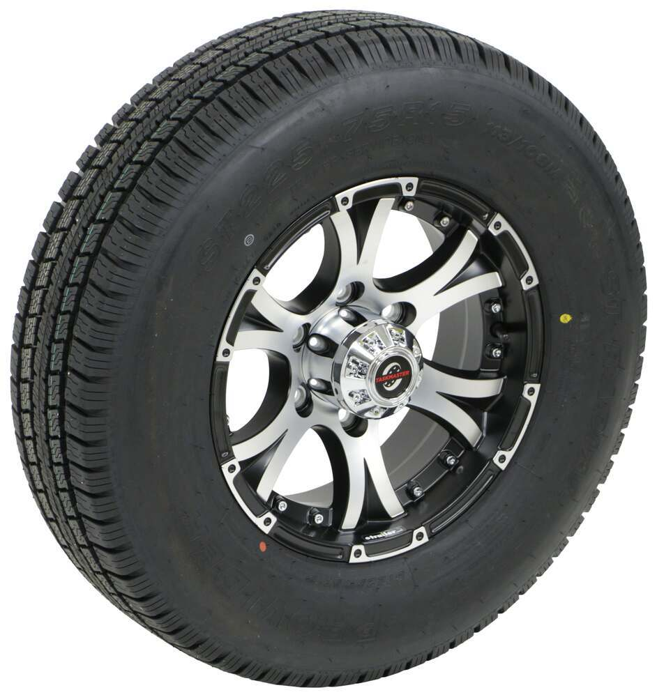A225R6BMMFL - 6 on 5-1/2 Inch Taskmaster Trailer Tires and Wheels