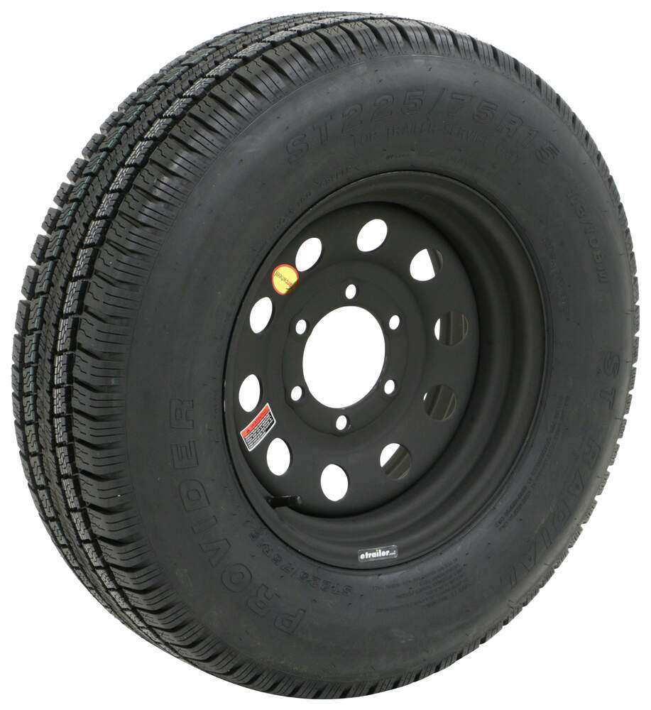 A225R6DMM - 6 on 5-1/2 Inch Taskmaster Tire with Wheel