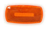 optronics accessories and parts  rectangle replacement amber lens for mc32ab trailer lights