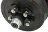 Timbren Axle-Less Trailer Suspension System w Electric Brake Hubs - Straight Spindle - 3,500 lbs Universal Fit A35RS545E
