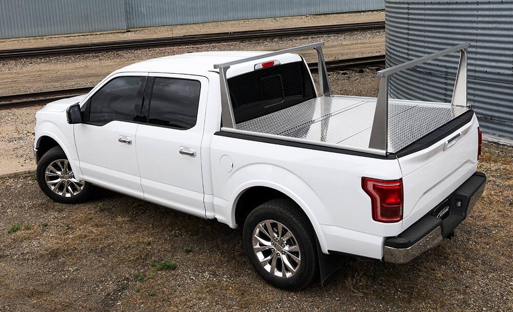 Adarac Pro Series Custom Truck Bed Ladder Rack - Aluminum - 500 lbs Standard Duty A4000950