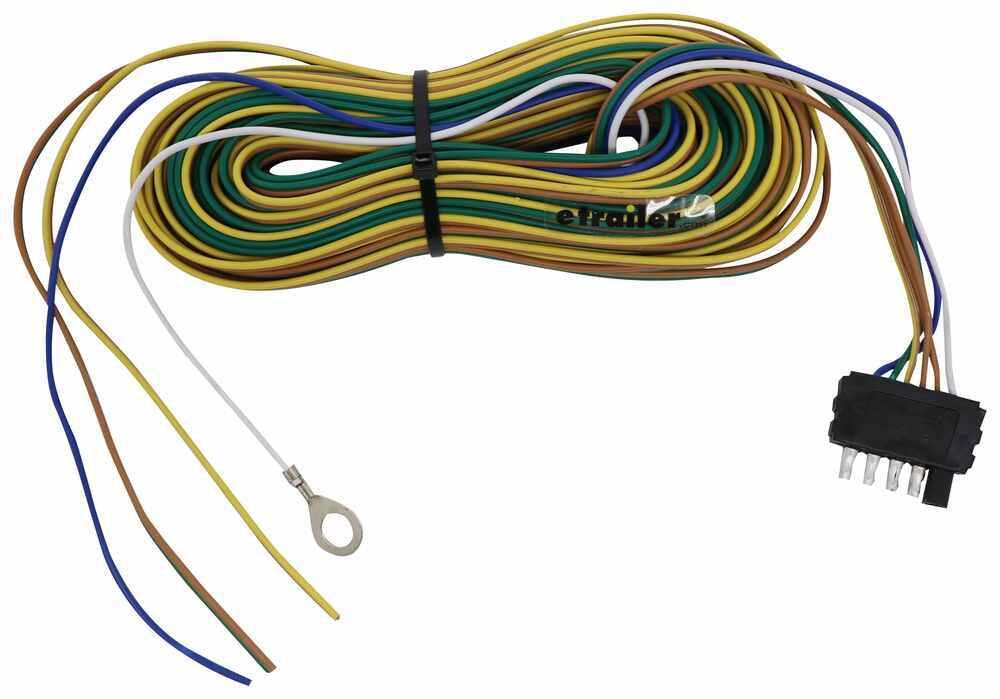 40 Ft 5 Way Trailer Wiring Harness Wishbone Style 30 Ground 5 Auxiliary Wire Optronics Wiring A40w5b