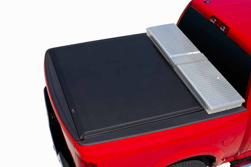 A61409 - Opens at Tailgate Access Roll-Up Tonneau