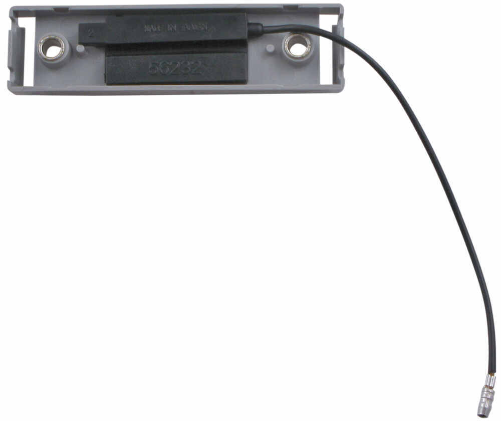 Gray Bracket and Single Wire Plug for Thin Line Series Trailer Clearance and Side Marker Lights Mount Parts A66PB