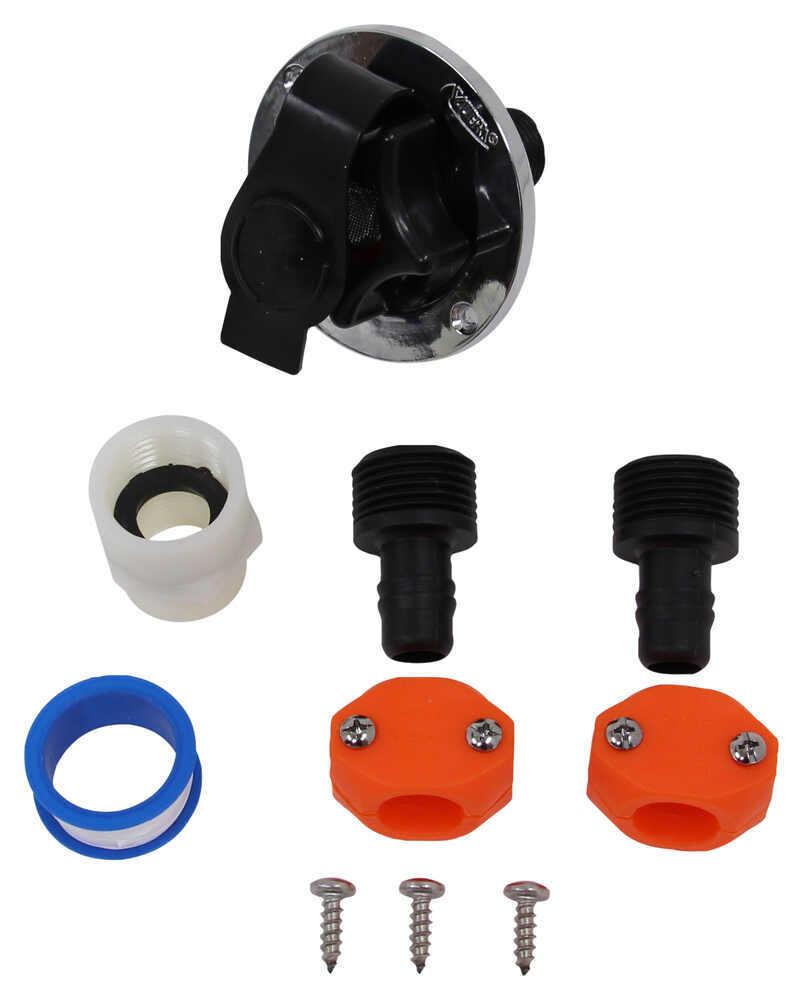 Valterra No-Fuss Flush Accessory Kit Flush Valves A71
