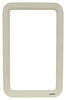 Valterra Replacement Window Frame for RV Entry Doors - Exterior - Ivory Frame A77007