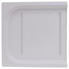 "Replacement Slide for P-Series RV Screen Doors - 11-15/16"" Long x 11-13/16"" Wide - White Slides A77018"