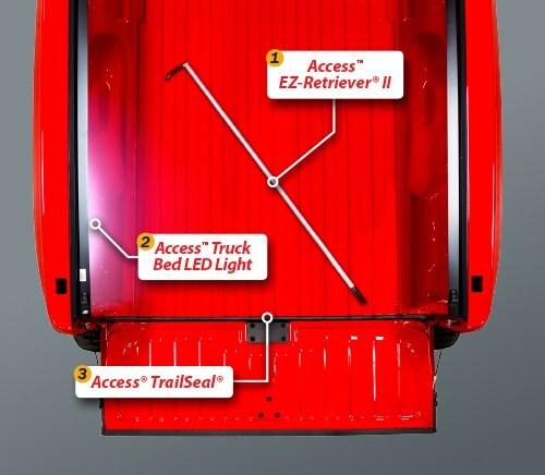 Access Tonneau Covers - A80509