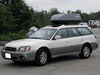 SR7095 - Passenger Side Access SportRack Roof Box on 2001 Subaru Outback