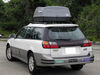 SR7095 - Gray SportRack Roof Box on 2001 Subaru Outback