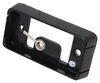 Mounting Bracket for Optronics 90 Series or 91 Series Trailer Lights - Self-Grounding - Black Black A91BB