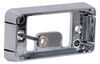 Mounting Bracket for Optronics 90 Series or 91 Series Trailer Lights - Self Grounding - Chrome Mount Parts A91CB
