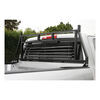 AA111000 - Black Aries Automotive Louvered Headache Rack
