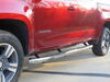 "Aries Round Nerf Bars - 3"" Diameter - Polished Stainless Steel Silver AA204051-2 on 2016 Chevrolet Colorado"