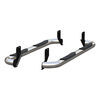 """Aries Round Nerf Bars - 3"""" Diameter - Polished Stainless Steel Fixed Step AA205039-2"""